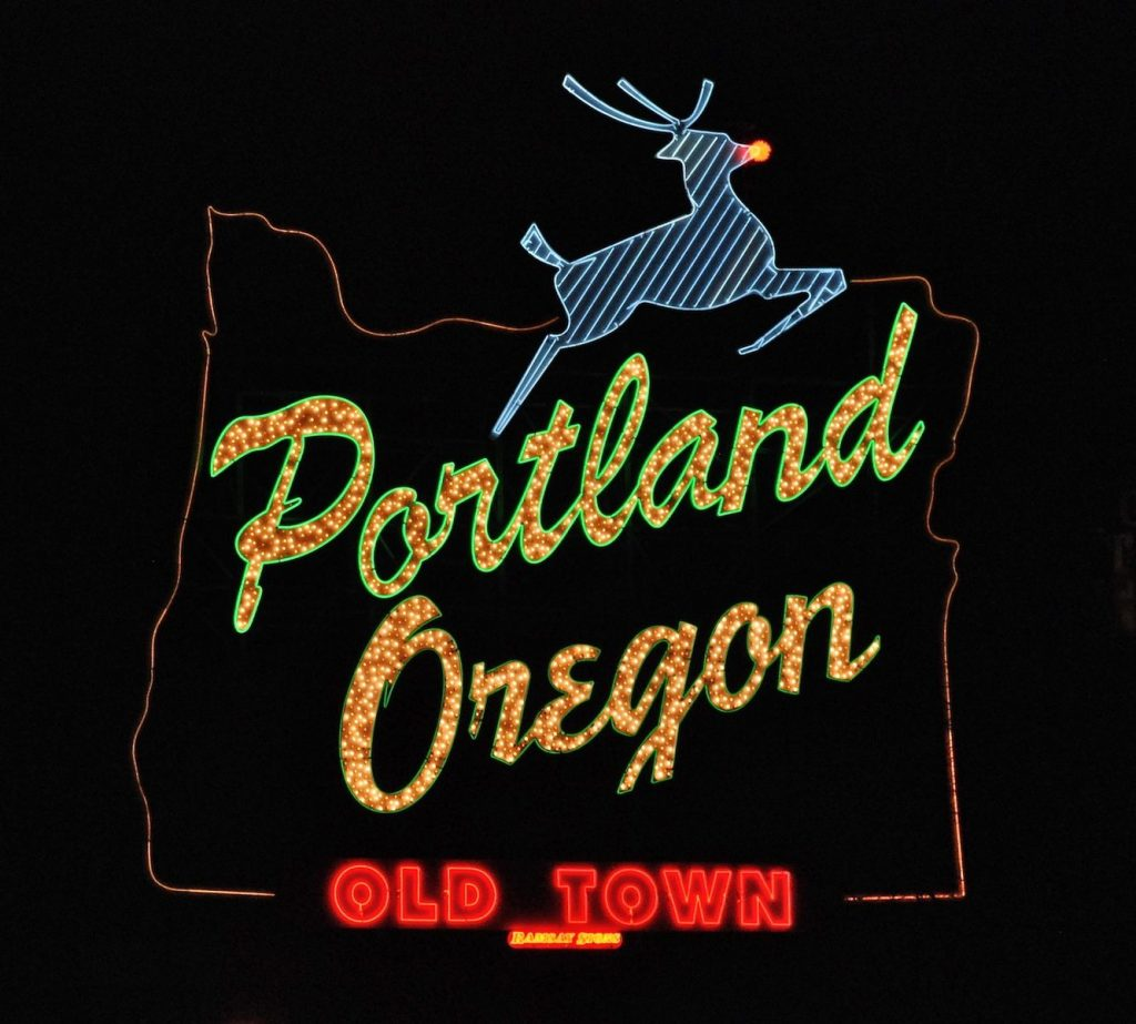 Rudolph: Made in Portland, Oregon.